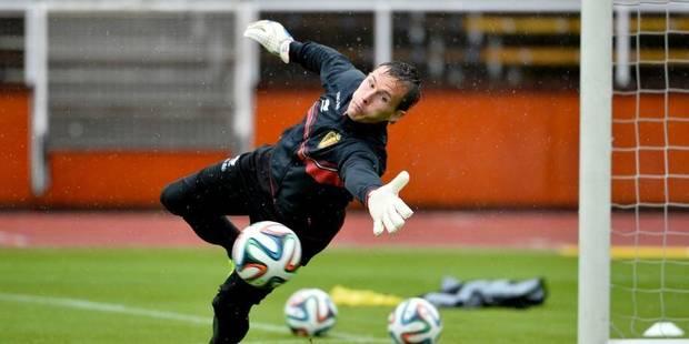 Diables : Bossut remplace Casteels à la Coupe du Monde au Brésil - La Libre