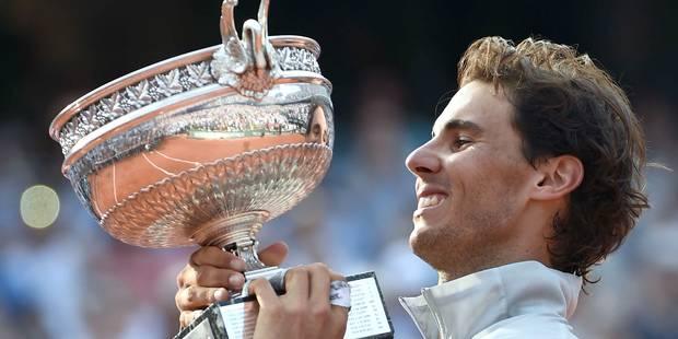 Nadal remporte son 9e Roland Garros - La Libre