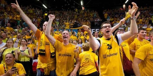 Ethias League : Ostende champion de Belgique de basket pour la 15e fois - La Libre
