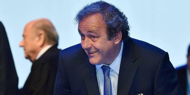 Michel Platini lâche Sepp Blatter - La Libre