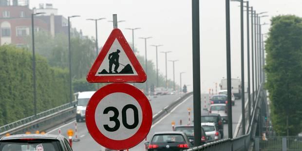 Le viaduc Reyers et le tunnel Cinquantenaire à Bruxelles fermés cet été - La Libre