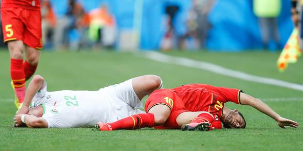 Eden Hazard est touché à un orteil - La Libre