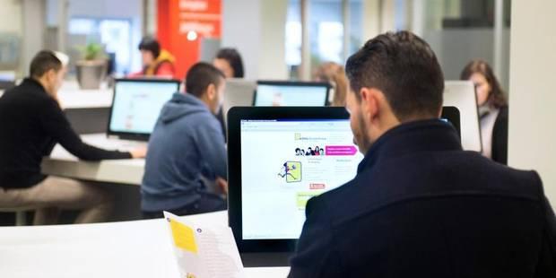 La formation remet à l'emploi 7 chômeurs sur 10 à Bruxelles - La Libre