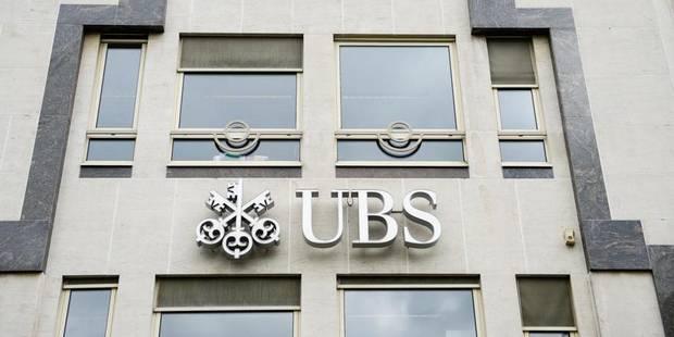 Le patron de la banque UBS Belgium inculpé - La Libre