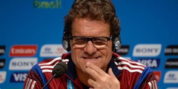"""Capello redoute """"la meilleure équipe belge depuis les années 80"""" - La Libre"""