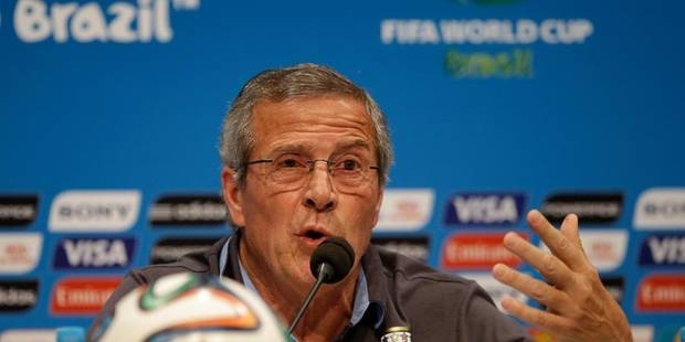 """Mondial : Suarez a commis """"une faute, pas un crime"""" selon Tabarez - La Libre"""