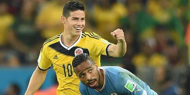 La Colombie rejoint le Brésil en 1/4 de finale - La Libre