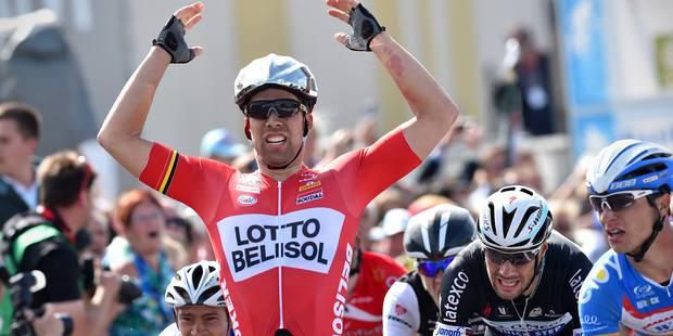Jens Debusschere est sacré champion de Belgique - La Libre