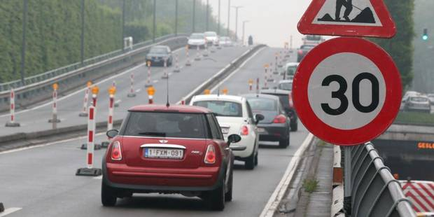 Bruxelles : chantiers et grève perturbent le trafic - La Libre