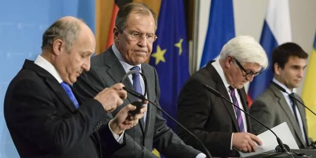 Ukraine: dialogue relancé pour un cessez-le-feu - La Libre