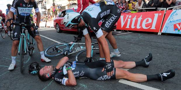 Tour de France : Mark Cavendish absent environ six semaines - La Libre