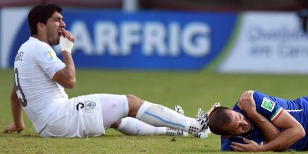 Morsure de Luis Suarez: la Fifa rejette les appels du joueur et de la fédération uruguayenne - La Libre
