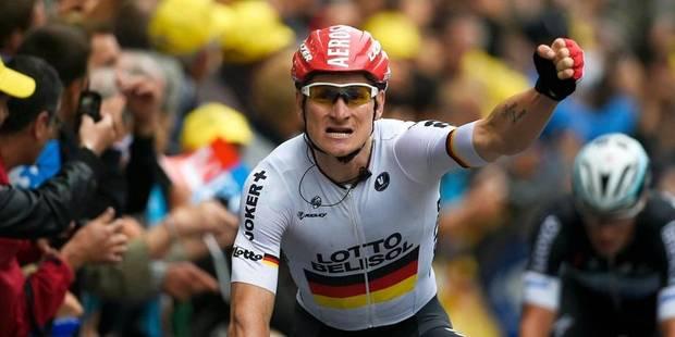 Greipel, roi du sprint à Reims - La Libre