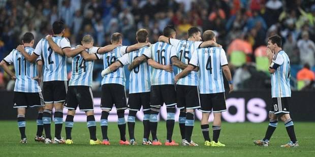 Mondial: grosse amende pour l'Argentine - La Libre