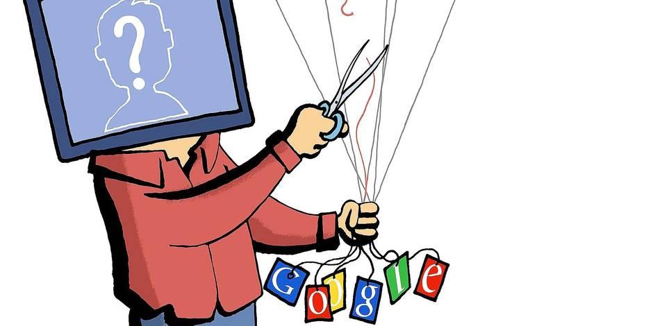 Le dilemme du droit à l'oubli sur Internet - La Libre