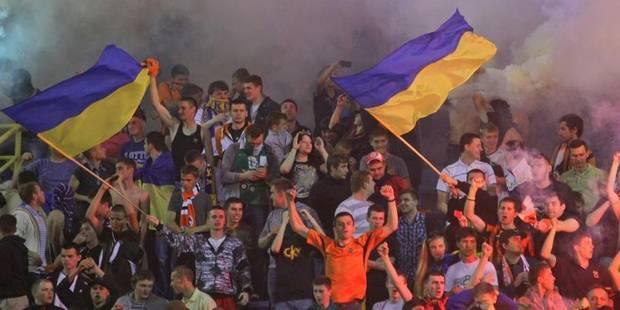 Ukraine: les footballeurs du Shakhtar Donetsk contraints de jouer loin de leurs terres - La Libre