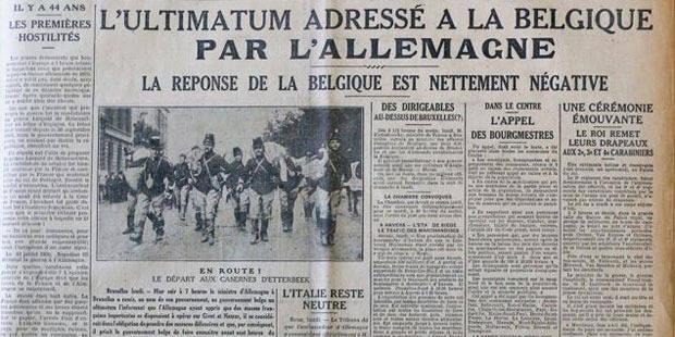 """Du """"Patriote"""" à """"La Libre Belgique""""? - La Libre"""