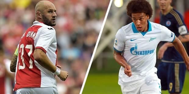 Ligue des Champions: Le Standard affrontera le Zenit et Axel Witsel - La Libre