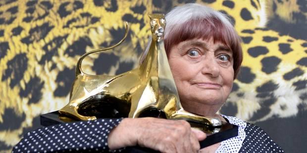 Agnès Varda honorée pour son oeuvre au Festival de Locarno - La Libre