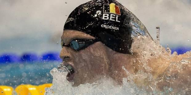 Euro de natation: Louis Croenen signe un nouveau record de Belgique - La Libre