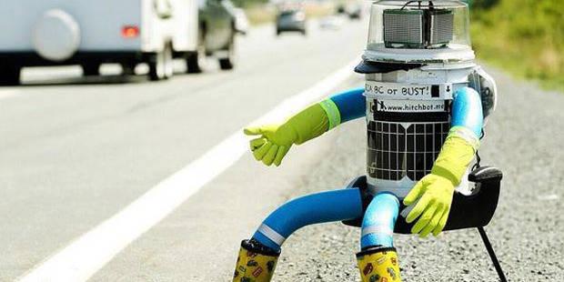 Le robot auto-stoppeur termine sa traversée du Canada - La Libre