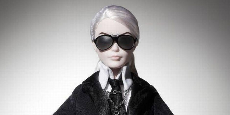 Voici Barbie Lagerfeld