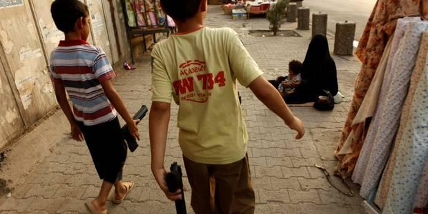 Les enfants, une arme pour l'Etat islamique - La Libre