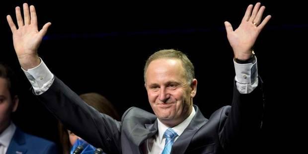 Elections en Nouvelle-Zélande: victoire du Premier ministre sortant - La Libre