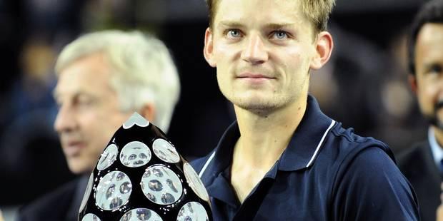 """Goffin, grand vainqueur du tournoi de Metz: """"Je profite de chaque instant"""" - La Libre"""