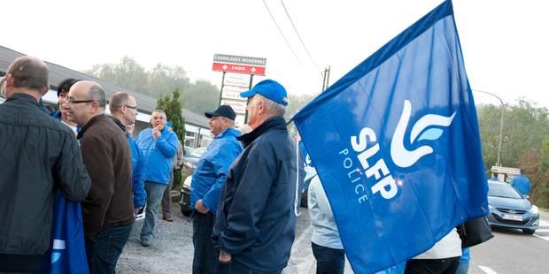 """Pour les syndicats policiers, """"la grève est un succès"""" - La Libre"""