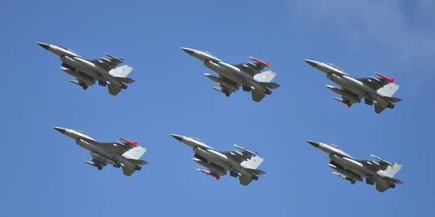 Irak: En six ans de mission, Les F-16 n'ont connu que 3 heures de retard et une panne - La Libre
