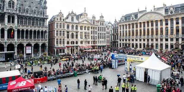 Marathon de Bruxelles: voici les rues inaccessibles - La Libre