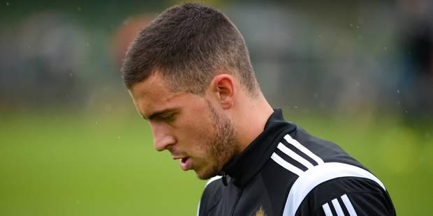 Belgique-Andorre : Eden Hazard forfait - La Libre