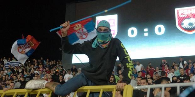 """Incidents lors de Serbie-Albanie: """"Faites voler un drapeau russe à Kiev et vous verrez..."""" - La Libre"""