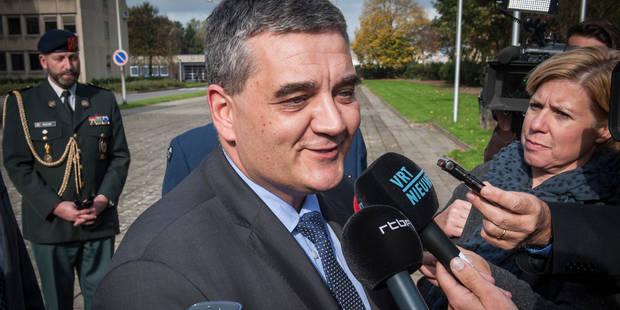 """Steven Vandeput: """"Je serai ministre de tous les gens de la Défense, aussi des francophones"""" - La Libre"""
