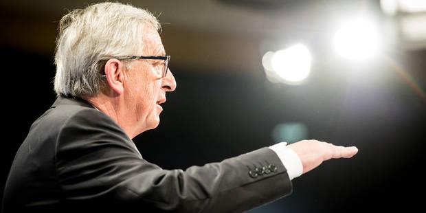 Le Parlement européen à marche forcée pour investir la Commission Juncker - La Libre