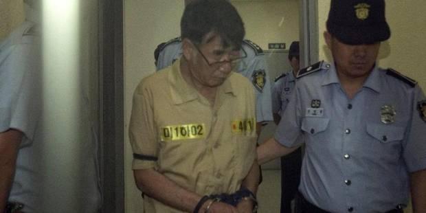 Corée du Sud: la peine de mort requise contre le capitaine du ferry Sewol - La Libre