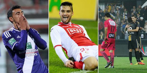 Anderlecht gagne sans convaincre à Courtrai, le Standard in extremis contre le Cercle - La Libre