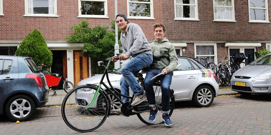 Au coeur du QG de Boon et Gougnard à Amsterdam - La Libre