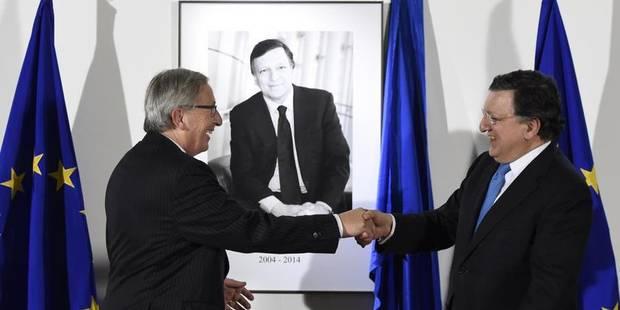 Barroso passe le relais à Juncker - La Libre