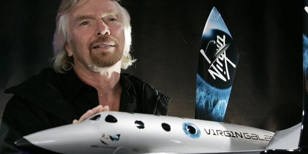 Accident de Virgin Galactic: la fin du tourisme spatial? - La Libre