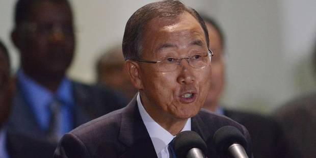 """Ban Ki-moon: """"Agir contre le réchauffement peut contribuer à la prospérité"""" - La Libre"""