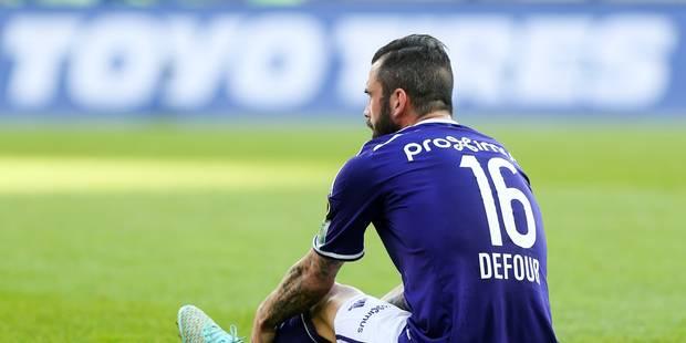 Anderlecht privé de Defour et de Suarez - La Libre