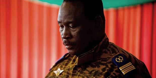 """Burkina: le nouvel homme fort promet une transition dans """"un cadre constitutionnel"""" - La Libre"""