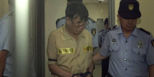 Corée du Sud: 36 ans de prison pour le capitaine du ferry - La Libre