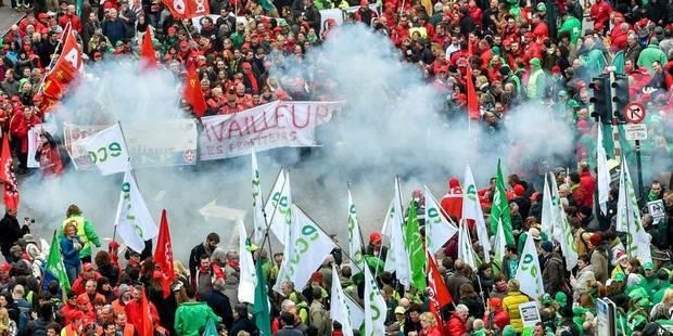 Manifestation du 6 novembre: Voici vos réactions et... vos coups de gueule - La Libre