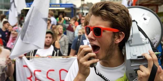 Grande action des étudiants ce lundi: perturbations à prévoir à Bruxelles et à Liège (Cartes) - La Libre