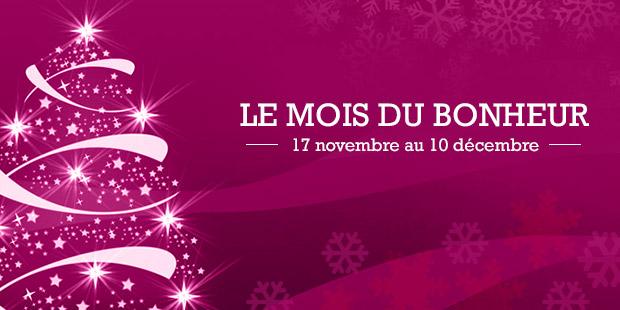C'est le mois du Bonheur grâce à La Libre Belgique - La Libre
