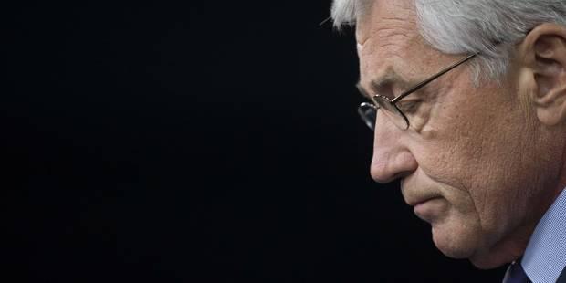 USA: le secrétaire à la Défense Chuck Hagel démissionne - La Libre