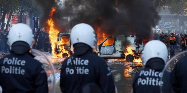 Le parquet de Bruxelles fait appel contre la libération de casseurs présumés - La Libre